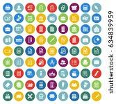 office icons set   Shutterstock .eps vector #634839959