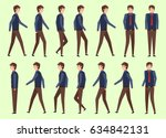 set character businessman for... | Shutterstock .eps vector #634842131