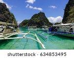 coron  philippines   apr 9 ... | Shutterstock . vector #634853495