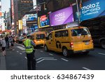new york  ny  august 28  2016 ... | Shutterstock . vector #634867439