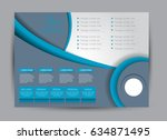 flyer  brochure  billboard... | Shutterstock .eps vector #634871495