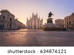 duomo   milan gothic cathedral... | Shutterstock . vector #634876121