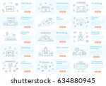 set of banner concepts.... | Shutterstock .eps vector #634880945