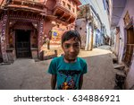 bundi  india   february 11 ... | Shutterstock . vector #634886921