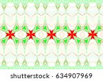 colorful horizontal pattern for ... | Shutterstock . vector #634907969