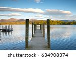 Jetty On The Still Water Of...