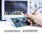 repair and measurement of... | Shutterstock . vector #634908539