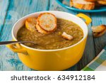classic onion soup with...
