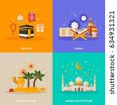 ramadan kareem concepts set... | Shutterstock .eps vector #634931321