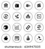 investment icons | Shutterstock .eps vector #634947035