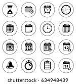 event icons | Shutterstock .eps vector #634948439