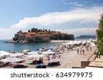 6th august 2016   sveti stefan  ... | Shutterstock . vector #634979975