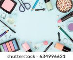 set of professional decorative... | Shutterstock . vector #634996631