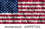 flag of united states | Shutterstock . vector #634997231