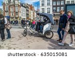 amsterdam netherlands   april... | Shutterstock . vector #635015081