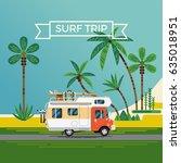 cool flat design illustration... | Shutterstock .eps vector #635018951