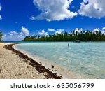 beach of a small island  also... | Shutterstock . vector #635056799