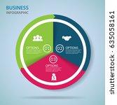 modern infographics process ...   Shutterstock .eps vector #635058161