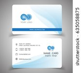 business card design set....   Shutterstock .eps vector #635058875