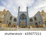esfahan  iran   dem 28  2016  ... | Shutterstock . vector #635077211