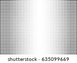 abstract halftone dotted... | Shutterstock .eps vector #635099669