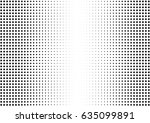 abstract halftone dotted... | Shutterstock .eps vector #635099891