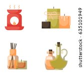 vector illustrations of... | Shutterstock .eps vector #635101949