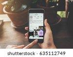 chiang mai  thailand   may 6 ... | Shutterstock . vector #635112749
