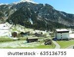 brand  bludenz  vorarlberg ...   Shutterstock . vector #635136755