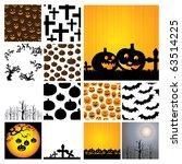 set of background design... | Shutterstock .eps vector #63514225