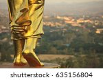 Feet Of Buddha Image In Wat...