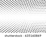 abstract halftone dotted... | Shutterstock .eps vector #635160869