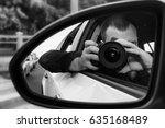 A Man Is Making Selfie Through...