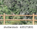 Split Rail Fence Made From Wood ...