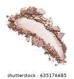eye shadow stroke isolated on... | Shutterstock . vector #635176685
