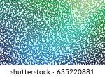dark blue  green vector of... | Shutterstock .eps vector #635220881