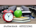 empty classroom for back to... | Shutterstock . vector #635221361