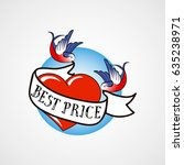 "vector sign ""best price"" in old ... 