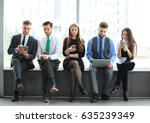 business team office worker... | Shutterstock . vector #635239349