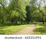 green forest | Shutterstock . vector #635251991