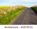 country road in the farmland | Shutterstock . vector #63525514