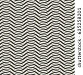 vector seamless pattern. modern ... | Shutterstock .eps vector #635258201