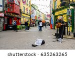 galway  ireland. 4th april ...   Shutterstock . vector #635263265