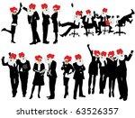 business people | Shutterstock .eps vector #63526357