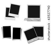 grunge photo frame | Shutterstock . vector #63527740