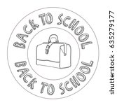 back to school | Shutterstock .eps vector #635279177