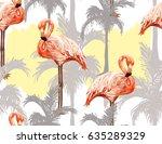 beautiful vector hand drawn... | Shutterstock .eps vector #635289329