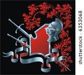 heraldic composition | Shutterstock .eps vector #6353068
