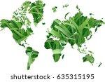 earth day | Shutterstock . vector #635315195
