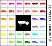 car transports sign. vector.... | Shutterstock .eps vector #635321459
